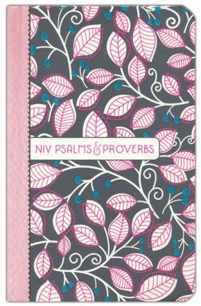 NIV, Psalms and Proverbs, Hardcover, Pink, Comfort Print: Poetry and Wisdom for Today *Scratch & Dent*