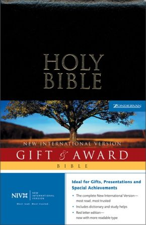 NIV Gift &  Award Bible, Revised *Scratch & Dent*