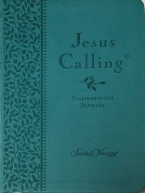 Jesus Calling Teal Inspirational Journal