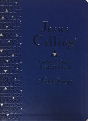 Jesus Calling - Enjoying Peace in His Presence - Easy to Read Large Comfort Print Large0 *Scratch & Dent*