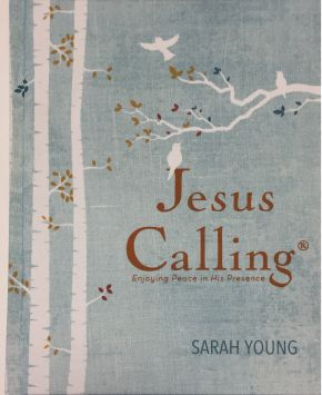 Young Sarah Jesus Calling (Deluxe Edition) Large Print-Hardcover (CBA Exclusive)