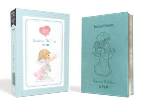 Santa Biblia Precious Moments NVI Angelitos, Ultrafina Compacta Aqua (Spanish Edition)