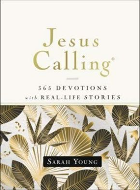 Jesus Calling ~ 365 Devotions with Real-Life Stories *Scratch & Dent*
