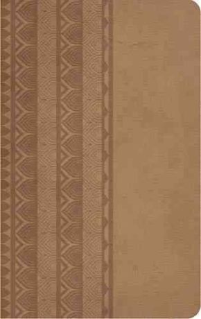 Holy Bible: King James Version, Reference Edition, Brown Sugar, Leathersoft (Classic)