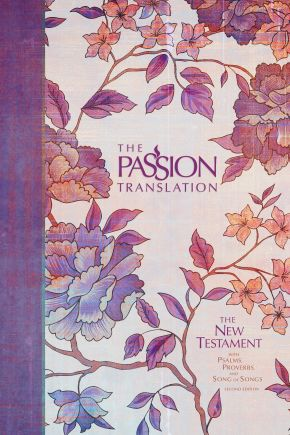 The Passion Translation New Testament, Peony (2nd Edition, Hardcover) – In-Depth Bible with Psalms, Proverbs, and Song of Songs, Makes a Great Gift for Confirmation, Holidays, and More *Scratch & Dent*