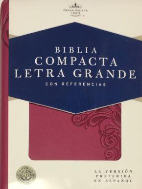 Biblia Compacta Letra Grande Pink RVR 1960
