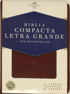 Biblia Compacta Letra Grande Brown RVR 1960