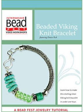 Beaded Viking Knit Bracelet By Interweave DVD