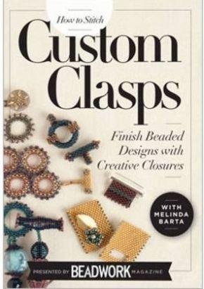 How to Stitch Custom Clasps