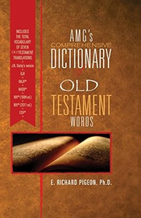 AMG's Comprehensive Dictionary of Old Testament Words *Scratch & Dent*
