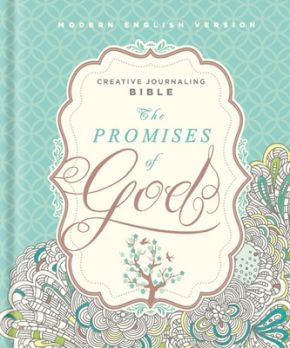 The Promises of God Creative Journaling Bible: Modern English Version (MEV) *Scratch & Dent*
