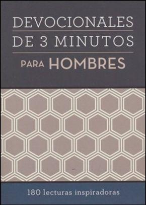 Devocionales de 3 minutos para hombres: 180 lecturas inspiradoras (Spanish Edition)