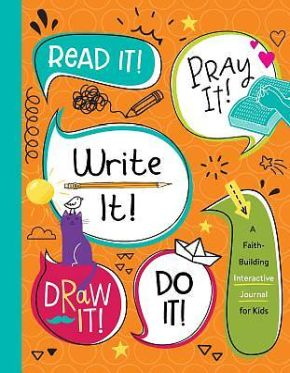Read It! Pray It! Write It! Draw It! Do It! *Scratch & Dent*