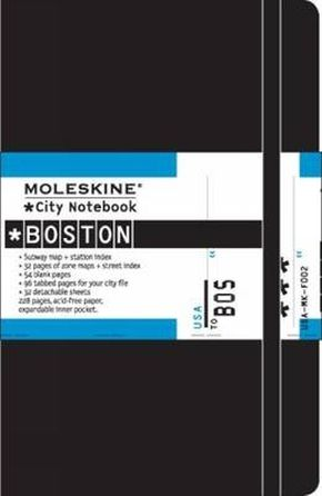 Moleskine City Notebook Boston