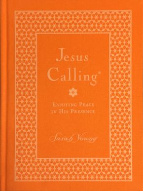 Jesus Calling Large Deluxe Orange Cloth