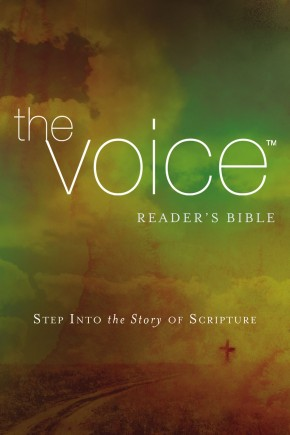 The Voice Readers Bible, Paperback: Step Into the Story of Scripture *Scratch & Dent*