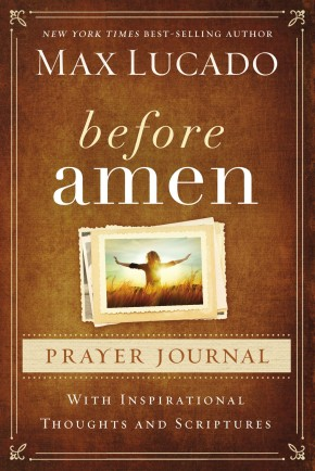 Before Amen Prayer Journal *Scratch & Dent*