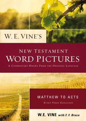 W. E. Vine's New Testament Word Pictures: Matthew to Acts *Scratch & Dent*