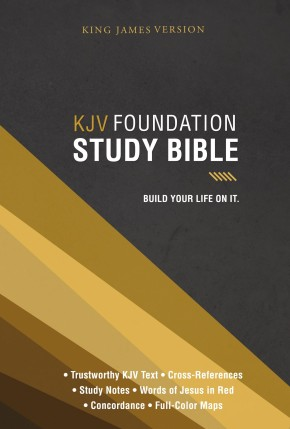 KJV, Foundation Study Bible, Hardcover