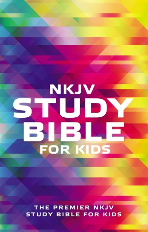 NKJV, Study Bible for Kids, Softcover, Multicolor: The Premier NKJV Study Bible for Kids *Scratch & Dent*