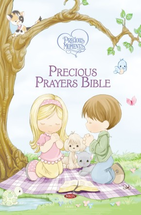 NKJV Precious Moments Precious Prayers Bible
