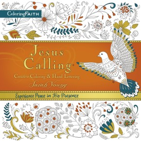 Jesus Calling Adult Coloring Book:  Creative Coloring and   Hand Lettering (Coloring Faith) *Scratch & Dent*
