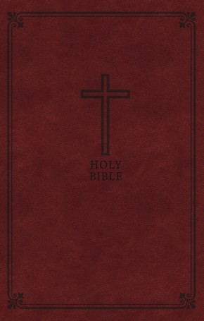 KJV, Deluxe Gift Bible, Leathersoft, Brown, Red Letter Edition, Comfort Print: Holy Bible, King James Version