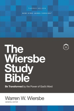 NKJV, Wiersbe Study Bible, Hardcover, Red Letter Edition, Comfort Print: Be Transformed by the Power of God's Word