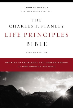 The NKJV, Charles F. Stanley Life Principles Bible, 2nd Edition, Hardcover, Comfort Print: Growing in Knowledge and Understanding of God Through His Word