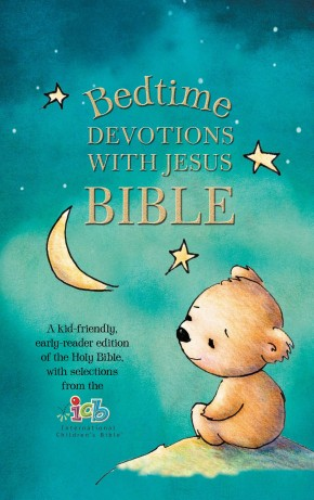 ICB, Bedtime Devotions with Jesus Bible, Hardcover: International Children's Bible *Scratch & Dent*