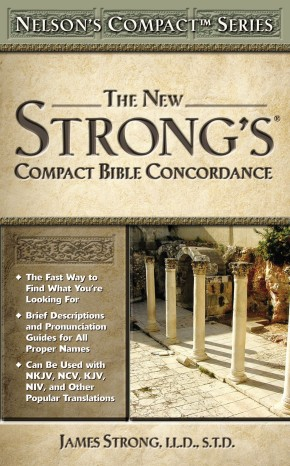 Nelson's Compact Series: Compact Bible Concordance *Scratch & Dent*