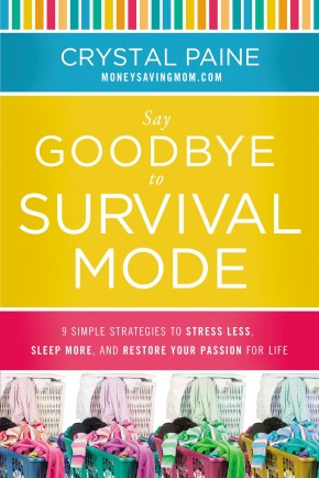 Say Goodbye to Survival Mode: 9 Simple Strategies to Stress Less, Sleep More, and Restore Your Passion for Life *Scratch & Dent*