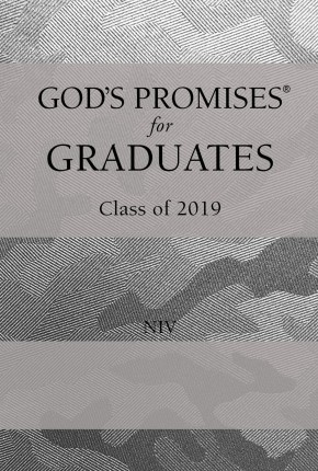 God's Promises for Graduates: Class of 2019 - Silver Camouflage NIV: New International Version