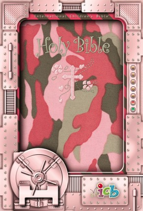 ICB, Holy Bible, Compact Kids Bible, Flexcover, Pink: Pink Camo