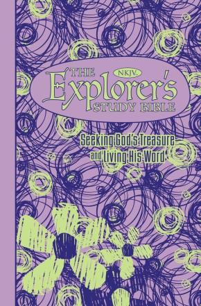 The NKJV, Explorer's Study Bible, Leathersoft, Purple: Seeking God's Treasure and Living His Word