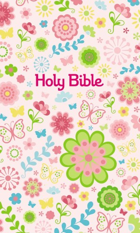 ICB, Sequin Bible Sparkles with Tote Bag, Hardcover, Pink: International Children's Bible