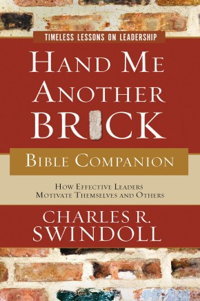 Hand Me Another Brick Bible Companion: Timeless Lessons on Leadership *Scratch & Dent*