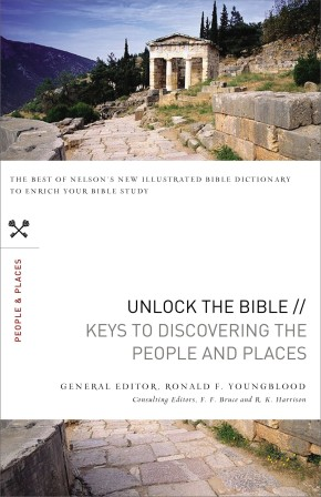 Unlock the Bible: Keys to Discovering the People and   Places *Scratch & Dent*