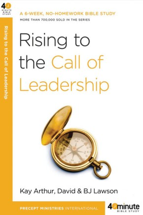 Rising to the Call of Leadership (40-Minute Bible Studies) *Scratch & Dent*