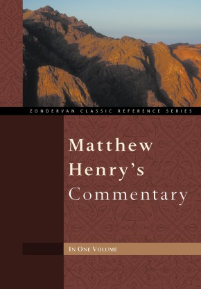 Matthew Henry's Commentary One Volume *Scratch & Dent*