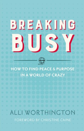 Breaking Busy: How to Find Peace and Purpose in a World of Crazy *Scratch & Dent*
