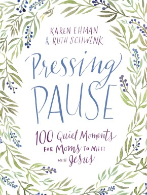 Pressing Pause: 100 Quiet Moments for Moms to Meet with Jesus *Scratch & Dent*
