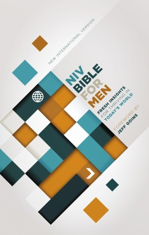 NIV, Bible for Men, Hardcover: Fresh Insights for Thriving in Today's World *Scratch & Dent*