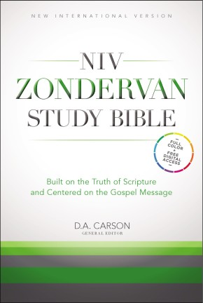 NIV Zondervan Study Bible, Hardcover: Built on the Truth of Scripture and Centered on the Gospel Message *Scratch & Dent*