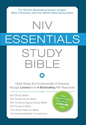 NIV, Essentials Study Bible, Hardcover: Easily Grasp the Fundamentals of Scripture through Lenses from 6 Bestselling NIV Resources