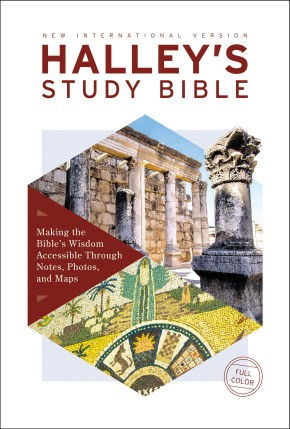 NIV, Halley's Study Bible, Hardcover, Red Letter, Comfort Print: Making the Bible's Wisdom Accessible Through Notes, Photos, and Maps