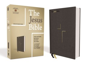 The Jesus Bible, ESV Edition, Cloth over Board, Gray *Scratch & Dent*