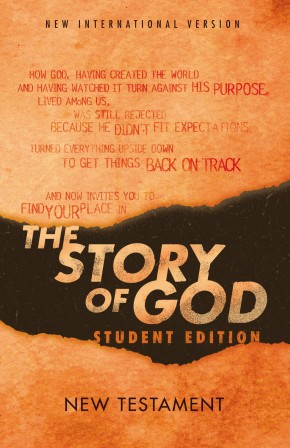 NIV, The Story of God, Student Edition, New Testament, Paperback *Scratch & Dent*