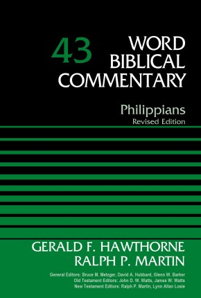 Philippians (Word Biblical Commentary)