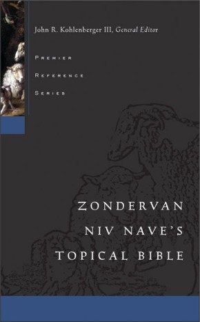 Zondervan NIV Nave's Topical Bible *Scratch & Dent*